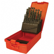 Dormer A190 No.20 HSS Drill Set in Metal Case - Imperial